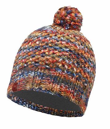 針織Polar保暖毛球帽 橘 MARGO