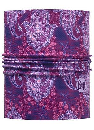 變型紫花 銀離子抗菌快乾頭盔巾