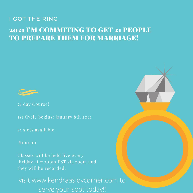 I got the ring