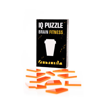IQ PUZZLE • Coffee Cup
