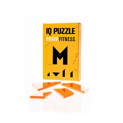 IQ PUZZLE • Letter  M