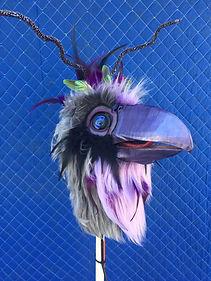 Grandis bird puppet