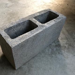 Stunt Cinder Block