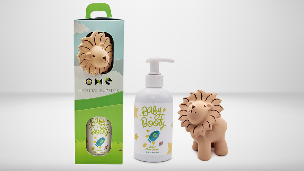 Baby Booty 8 Oz - Tikiri Safari Gift Set