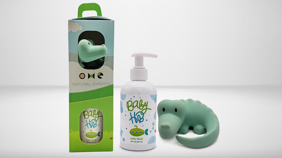Baby HB  8 Oz - Tikiri Safari Gift Set