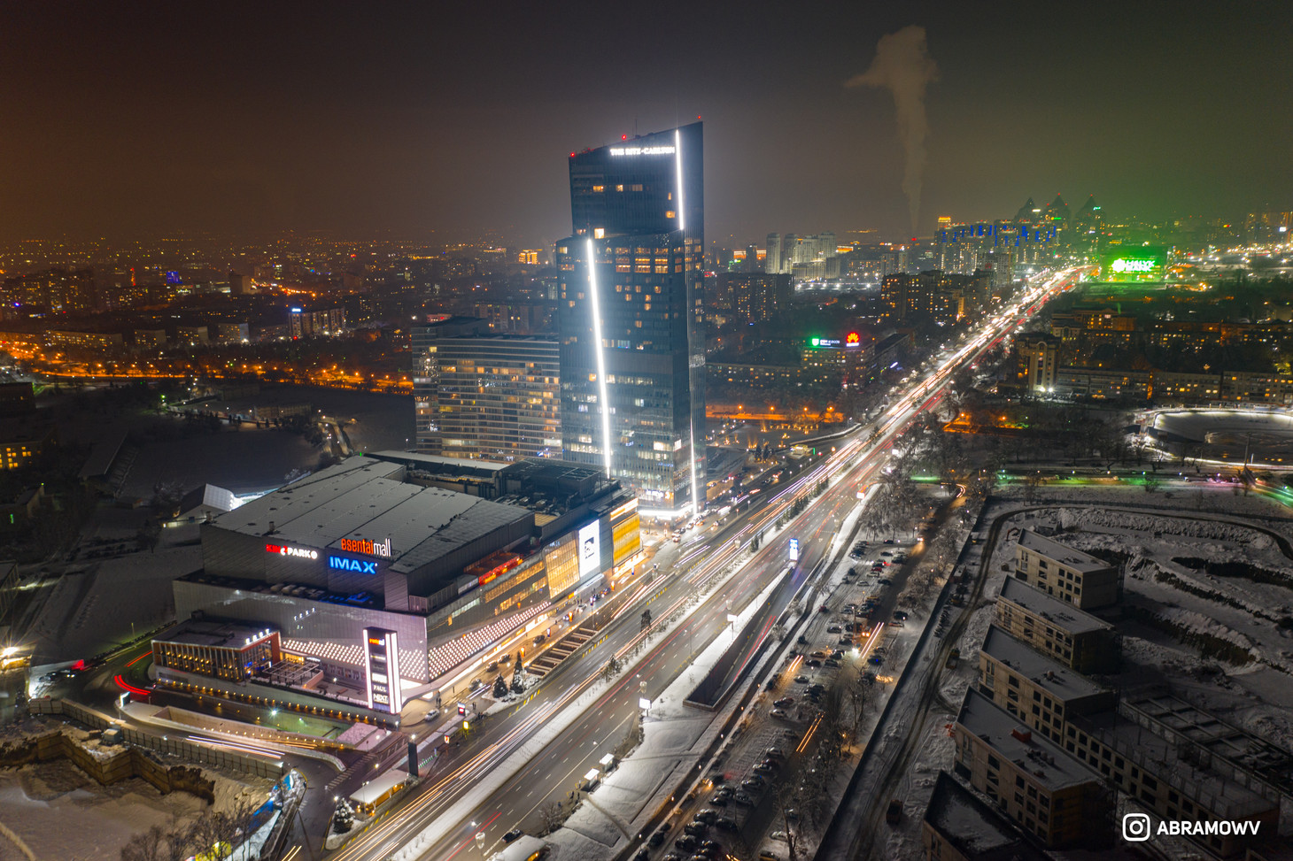 Esentai mall Almaty