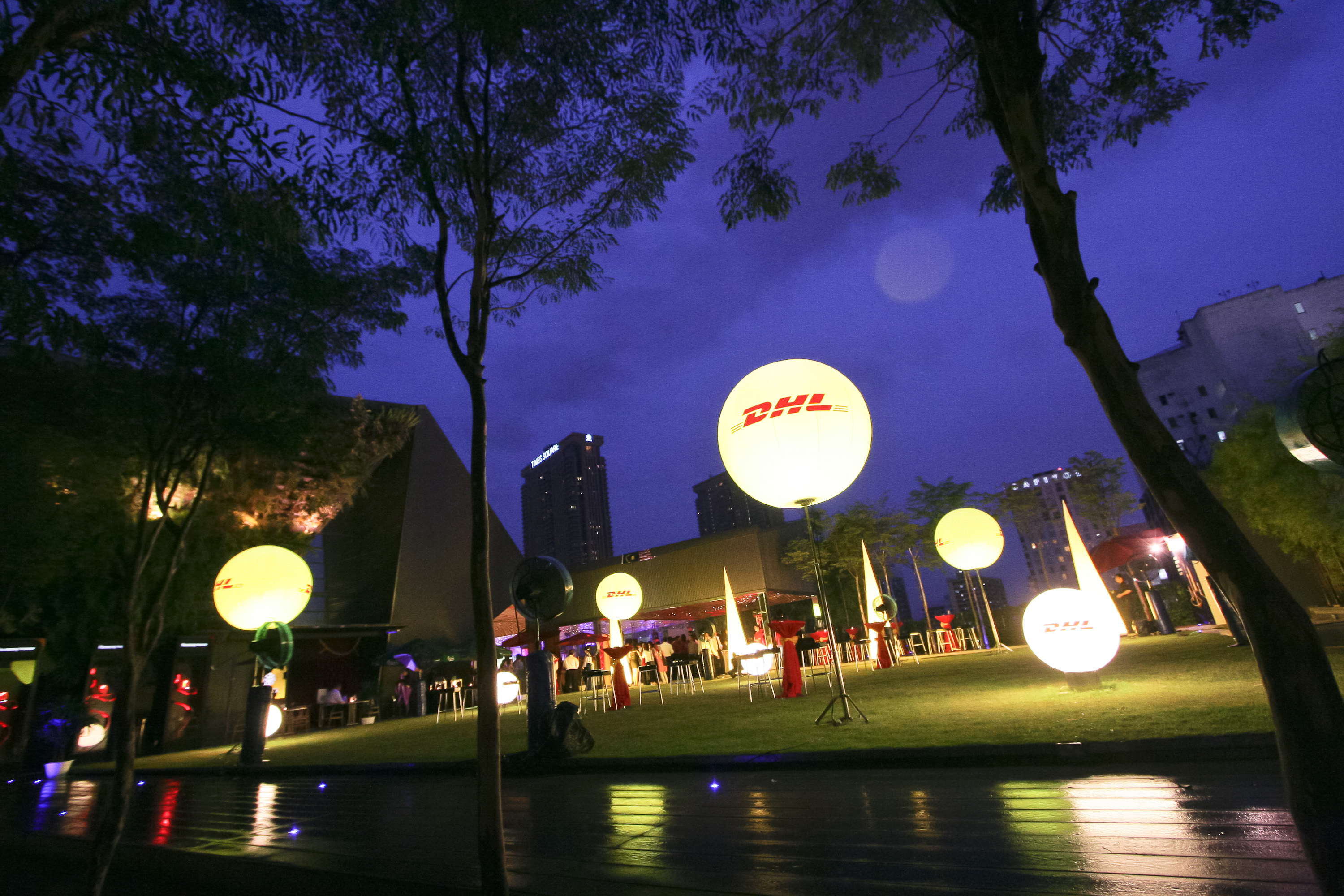 DHL SPEED OF YELLOW LAUNCH