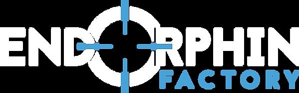 Endorphin Factory Logo: Axe Throwing, Archery, Demolition Rooms