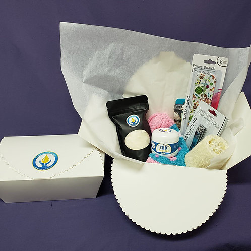 Therapeutic Foot Soak Gift Pax (Incl $13 Priority Shipping Box)
