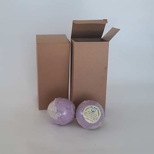 Lavender Champagne  Bath Bombs (90-95mg CBD)  BUY 5 GET 1 FREE