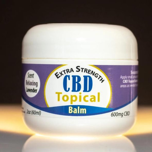 900mg CBD – Topical Balm (Lavender Scented)