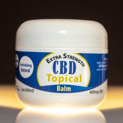 900mg CBD – Topical Balm (Natural, No Scent)