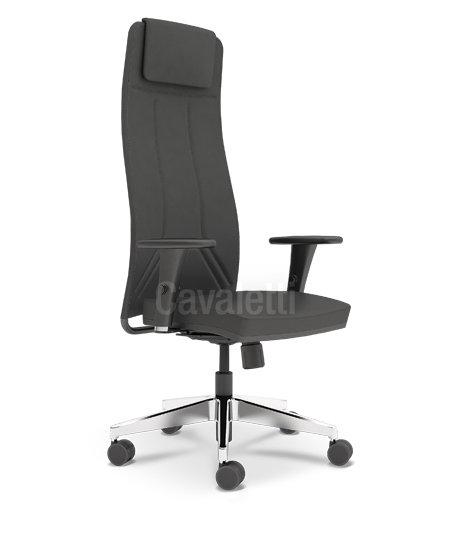 Cadeira para Escritório - Presidente - Giratória - 19001 L - Cavaletti
