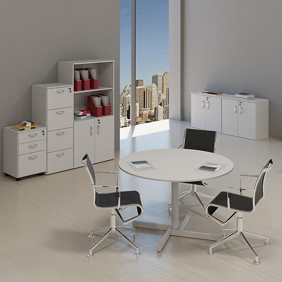 Mesa para Escritório - Reuniões - Linha 15mm - Maranello 03