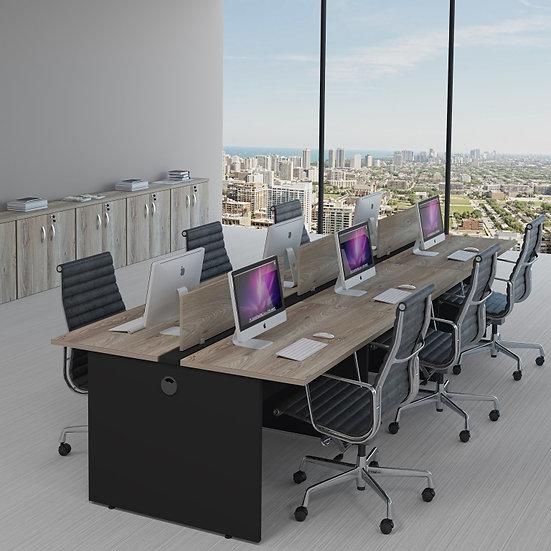 Mesa para Escritório - Plataforma - Linha 25mm - Maranello 02