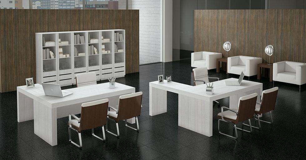 Mesa para Escritório Linha Glass - Artesano