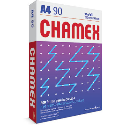 Papel A4 90 Grs Chamex