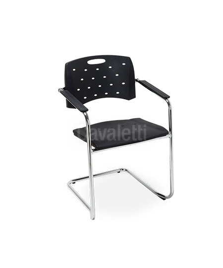 Cadeira para Escritório - Plástica - Fixa - 35007 S - Cavaletti