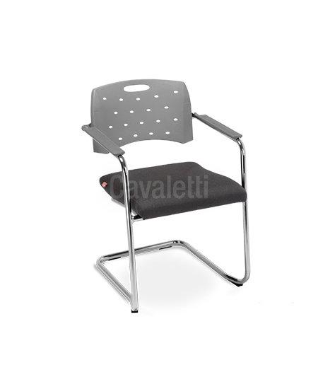 Cadeira para Escritório - Plástica - Fixa - 35007 SE - Cavaletti