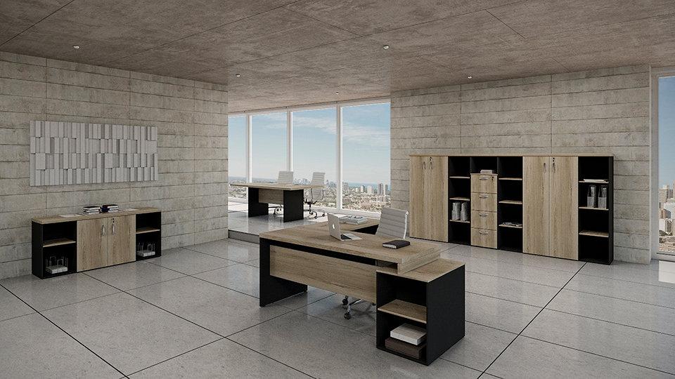 Mesa para Escritório Linha 40mm - Maranello Ambiente 06