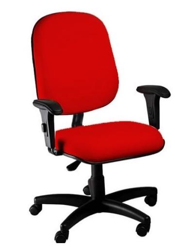 Cadeira Presidente com braço regulável