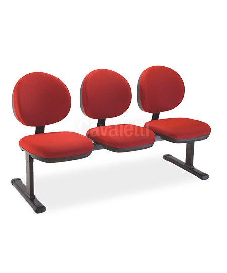 Cadeira para Escritório - Executiva - Longarina - 8110  - Cavaletti
