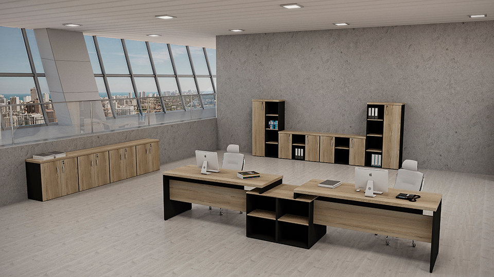 Mesa para Escritório Linha 40mm - Maranello Ambiente 07