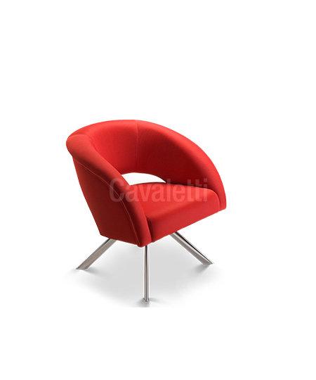 Cadeira para Escritório - Poltrona - Fixa - 36010 4P - Cavaletti