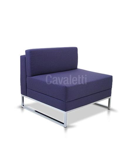 Poltrona Central com encosto - Espera - 36205 - Cavaletti