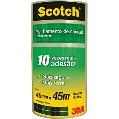 Fita adesiva 45mm - Scotch