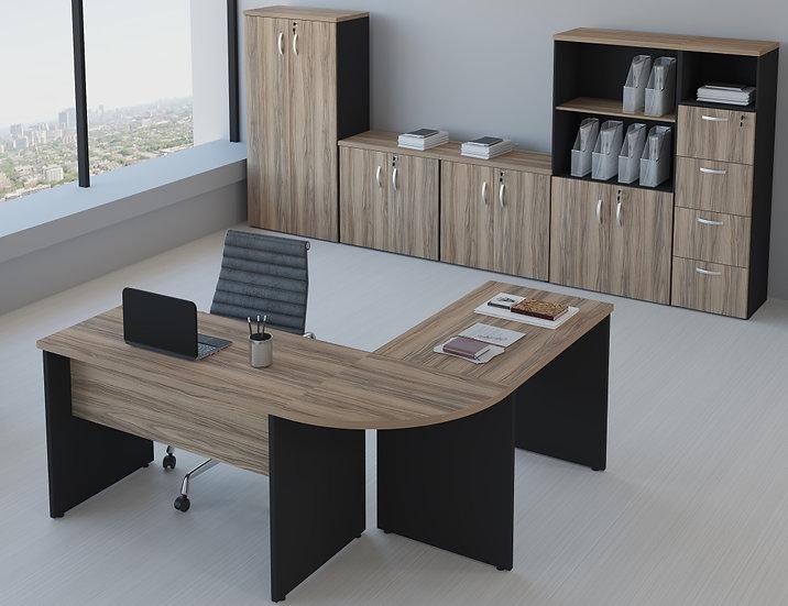 Mesa para Escritório - Linha 30mm - Maranello 02