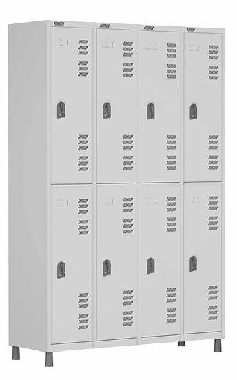 ROUPEIRO 8 PORTAS SOBREPOSTAS – 1820X1225X420 – CH 26
