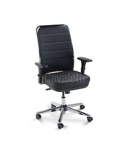 Cadeira para Escritório - Presidente - Giratória - 16501   - Cavaletti