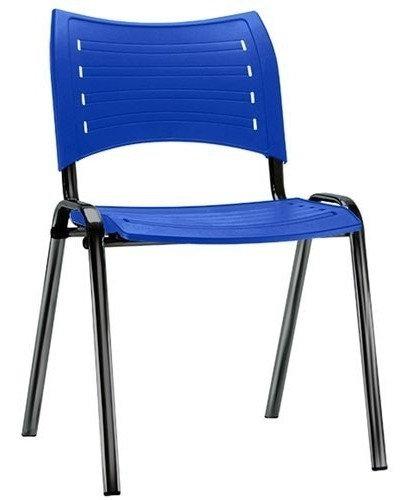 Cadeira para Escritório - Plástica - Fixa - Iso - Frisokar