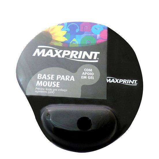 Base para Mouse com Apoio em Gel - Maxprint