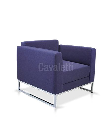 Poltrona com braço - Espera - 36205 - Cavaletti