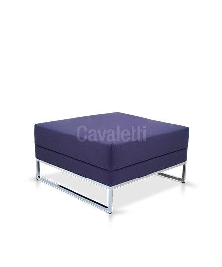 Poltrona Central sem encosto - Espera - 36205 - Cavaletti