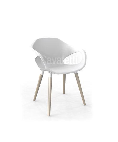 Cadeira para Escritório - Plástica - Fixa - 33206 - Cavaletti