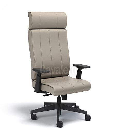 Cadeira para Escritório - Presidente - Giratória - 20501 4D - Cavaletti