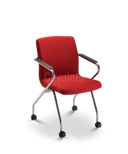 Cadeira para Escritório - Executiva - Fixa- 18006 Z ROD - Cavaletti