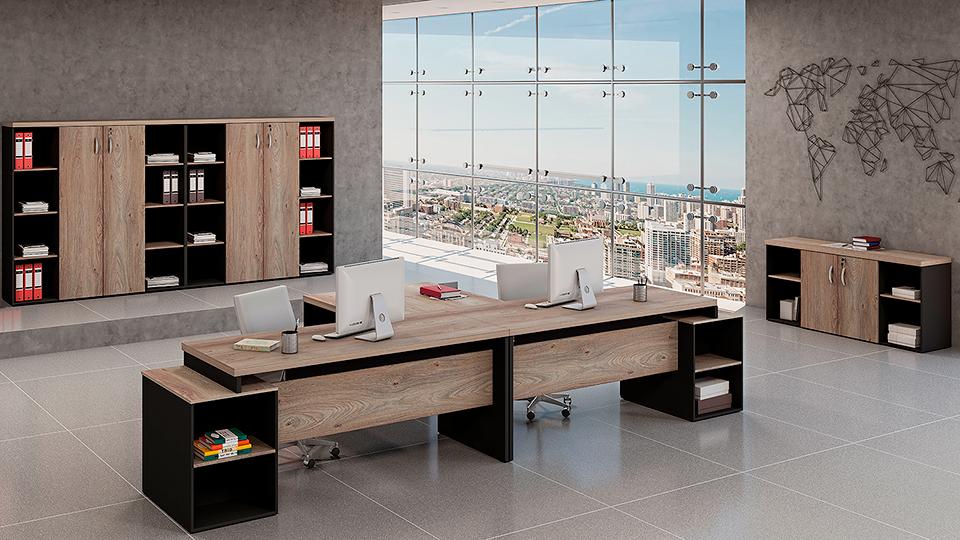 Mesa para Escritório Linha 40mm - Maranello Ambiente 04