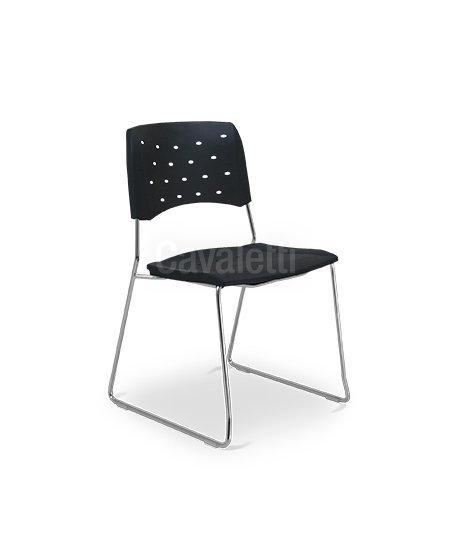 Cadeira para Escritório - Plástica - Fixa - 35008 A - Cavaletti