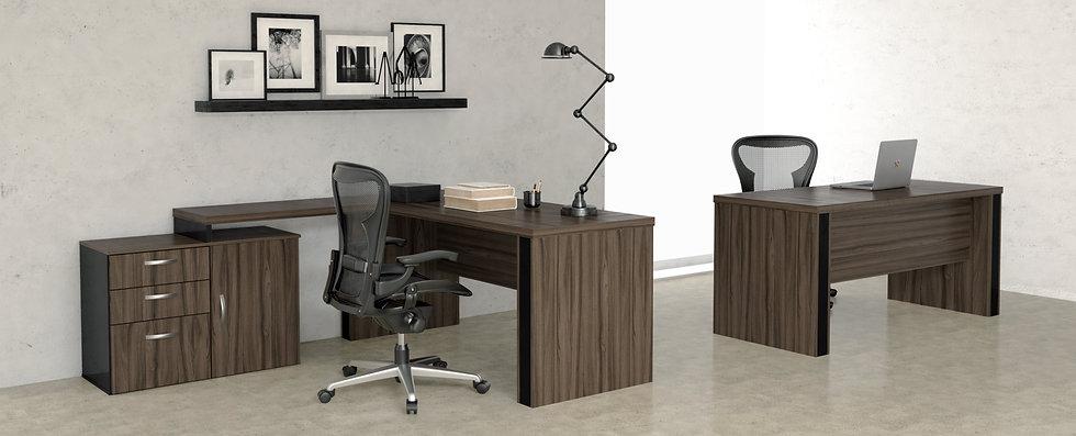 Mesa para Escritório - Linha 40mm Gold - Maranello 03