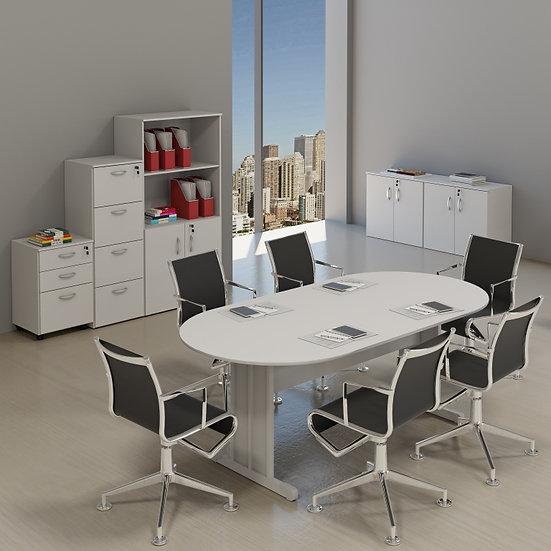 Móveis para Escritório - Reuniões - Linha 15mm - Maranello 02