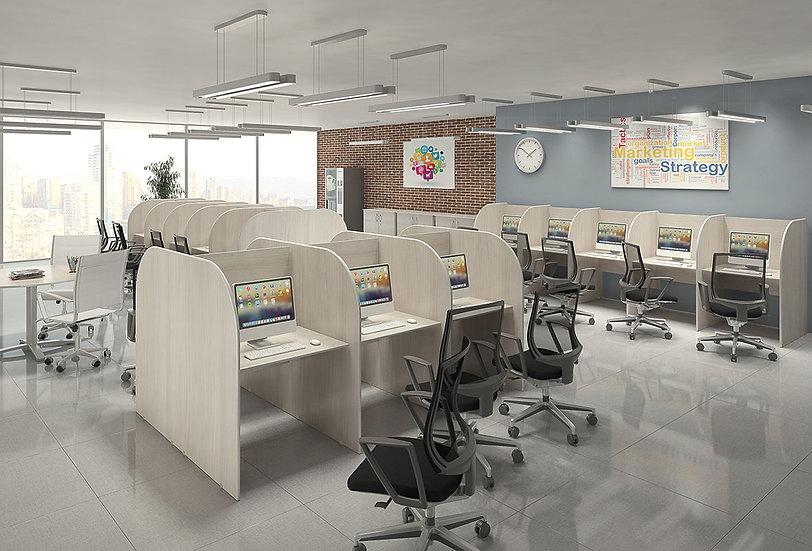 Mesa para Escritório call center Incoflex 02