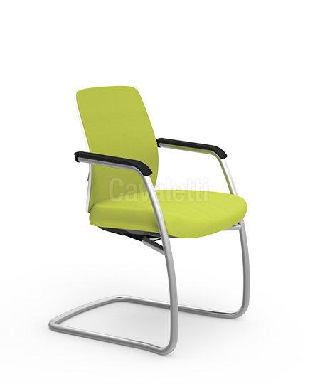 Cadeira para Escritório - Executiva - Fixa- 40106 Soft - Cavaletti