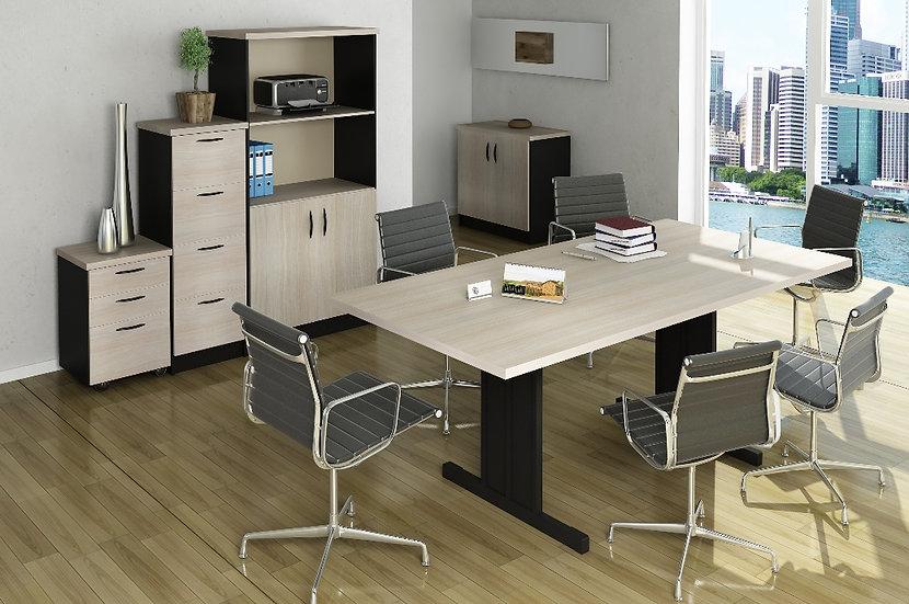 Mesa para Escritório - Reunião - Linha 30mm - Maranello 01