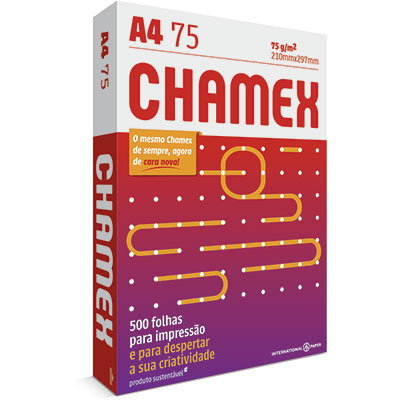 Papel A4 - 75 Grs Chamex