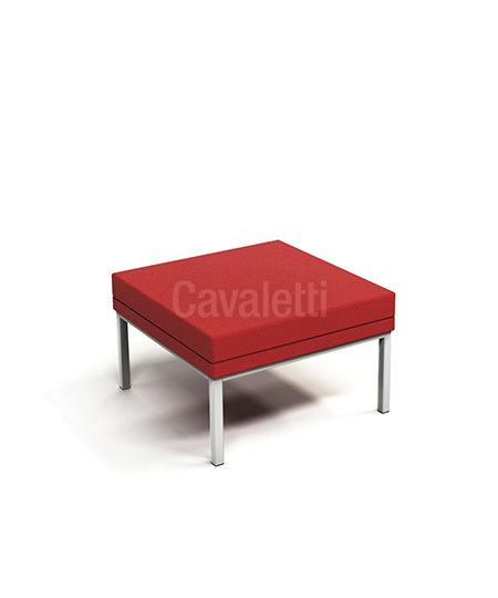 Poltrona Central sem encosto - Espera - 36505 - Cavaletti