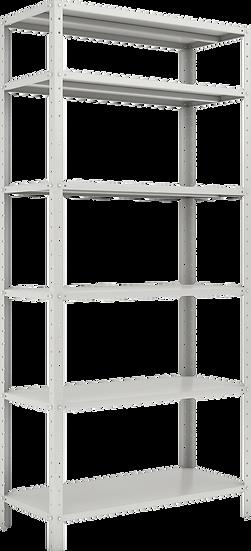 ESTANTE 1980X925X420 – C/ 6 PRAT. REF. CHAPAS 24/18 – 30X30